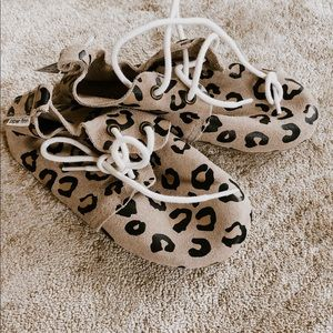 e305964fe960a4 ... Piper Finn Leopard Kids Shoes ...